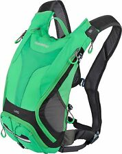 Shimano Ounzes II 10 Backpack Hydration pack Water bag black-green Bicycle