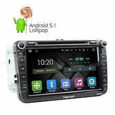 """8"""" Android 5.1 HD Car Radio CD DVD Player GPS BT WIFI 3G E for VW Golf Jetta OBD"""