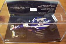 1/43 WILLIAMS 1997 RENAULT FW19 JACQUES VILLENEUVE WORLD CHAMPION BOX ROTHMANS