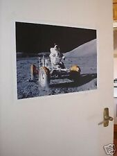 Apollo Buggy on MOON Space Poster #2