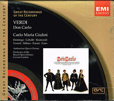 Verdi: Don Carlo- Royal Opera House, BRAND NEW FACTORY SEALED 3-CD SET W/BOOKLET