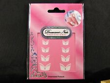 French Nail Tips Glitter Manicure Art Sticker Decals N-S-FNA06