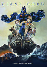 Giant Gorg Complete TV Series Collection (4DVD) Complete Anime Box / DVD Set!