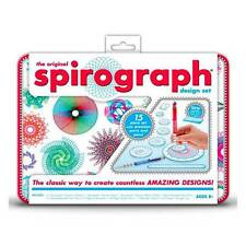 Spirograph Design Tin Set Creative Drawing Activity