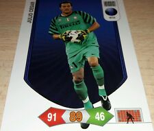 CARD ADRENALYN CALCIATORI PANINI INTER JULIO CESAR CALCIO FOOTBALL SOCCER
