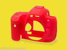 easyCover Armor Protective Skin for Canon 5D Mark III Red - Free US Shipping