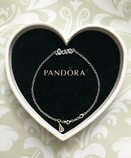 Pandora Signature of Love Bracelet, Size 7.1 in / 18 cm, Brand New, #590510CZ