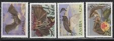 Zambia 466-69 Bats Mint NH