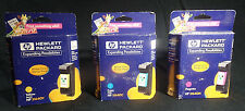 Genuine HP 40 Ink Cartridges Set of 3 Sealed Cyan/Yellow/Magenta, 51640, Expired