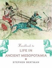 Handbook to Life in Ancient Mesopotamia-ExLibrary
