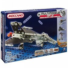 Meccano Flight 10 Multimodels Set 6024809 New &Sealed