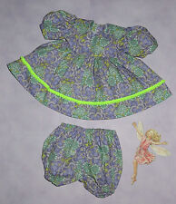 """Handmade Doll Clothes for 18"""" - 20"""" Baby Dolls - """"Pompom Perfect"""" Dress Set"""