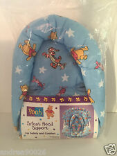 Disney Winnie the Pooh & Tiger Blue Infant Head Support