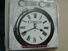 """CULTURE CLUB:Time(Clock Of The Heart)-White Boys Can't Control It-Germany 7"""" PSL"""