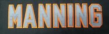 Custom stitched Jersey Name Tag
