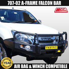 Isuzu Dmax 2012 ON, MCC4x4 707-02 Falcon Bull Bar ADR, Winch Comp 4WD Bullbar