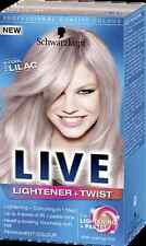 Schwarzkopf Live Permanent Lightener + Pastel Twist 104 COOL LILAC