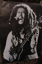 VINTAGE BOB MARLEY POSTER THE WAILERS REGGAE marly ska 1981 80s photo rastaman