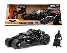 JADA 98261 THE DARK KNIGHT TRILOGY BATMOBILE TUMBLER 1:24 WITH BATMAN FIGURE
