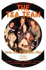 T A Team Poster 02 Metal Sign A4 12x8 Aluminium