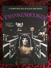 "Frankenhooker Back Patch!  11"" X 14.5"" Horror Punk Rockabilly Psychobilly Metal"