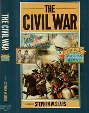 THE CIVIL WAR STEPHEN W. SEARS H/C D/J