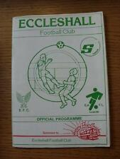 30/08/1986 Eccleshall v Congleton Town  (No Apparent Faults)