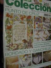 Labores Del Hogar Coleccion Magazine #24 Cross Stitch, Cutwork, Crochet, Embroid