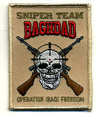 ELITE PROFESSIONALS SP OPS OPERATOR SNIPER TEAM SECTION BAGHDAD INSIGNIA