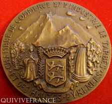 MED3686 - MEDAILLE CHAMBRE DE COMMERCE TARBES SALON PHOTO 1973 - FRENCH MEDAL