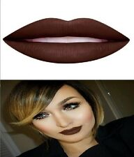 DOSE OF COLORS LIQUID MATTE LIPSTICK CHOCOLATE WASTED NEW COLOR VEGAN COSMETICS