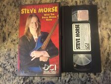 THE ESSENTIAL STEVE MORSE RARE VHS! NOT ON U.S DVD 1991 GUITAR INSTRUCTIONAL!