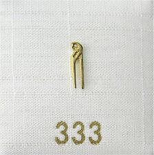 Singleohrstecker Ohrstecker Rohrzange 333 Gold einzeln NEU Herrenschmuck