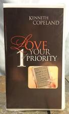 Kenneth Copeland Love Your 1st Priority Christian Ministries Audio Book Cassette