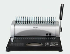 Brand new Comb Binding Machine Manual Punch Apron gib 21 Hole 350 Sheets Binder