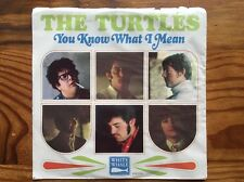1960s The Turtles You Know What I Mean & Rugs White Whale Records 45 Rpm Record