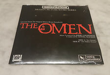 The Omen  (1976) Sealed 45 RPM Record Score CFQ Series Factory Sealed See Pics
