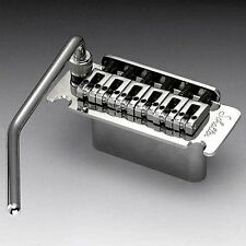 NEW Schaller Stud Mount Vintage Tremolo, Roller Saddles – CHROME #3801