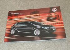 Vauxhall Astra Brochure 2011 SRI SE Elite 1.4 1.6 16v Turbo 1.3 1.7 2.0 CDTI