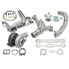 High Performance Upgrade GT45 T4 5pc Turbo Kit - Chevy Small Block SBC Engine