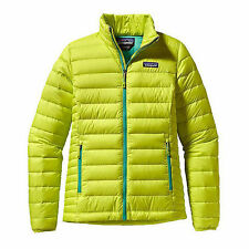 Patagonia Women's Jacket 800 Fill Down Sweater Chartreuse Medium NEW