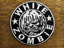 WHITE ZOMBIE ROB HEAVY METAL Embroidered Easy Iron On Patch #99