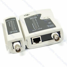 Useful NS-468B LAN Network Cable Wire RJ45 BNC Tester Test 1pc