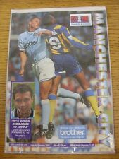 07/01/1989 Manchester City v Leicester City [FA Cup] (Score & Subs Noted). Good