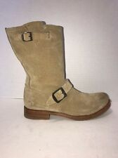 Frye Veronica Shortie Brown Suede Short Slouch Boots Size 8.5 B