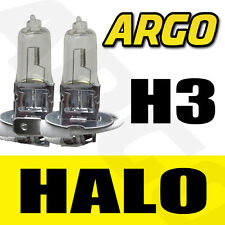 H3 HALOGEN 55W BULBS FRONT MAIN BEAM 12V CLEAR LIGHT PIAGGIO-VESPA ET2 50