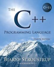 The C++ Programming Language (4th Edition) by Bjarne Stroustrup *NEW  FREE SHIP*