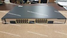 Cisco WS-C3750G-24T-E commutateur gigabit 3750G-24T-E
