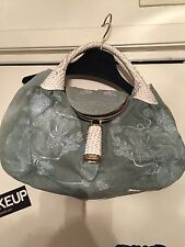 Fendi Denim Squirrel Spy Bag 100% Authentic
