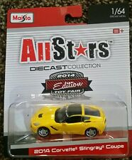 MAISTO ALL STARS 2014 CORVETTE STING RAY TOY FAIR EDITION NEW LIMITED VHTF